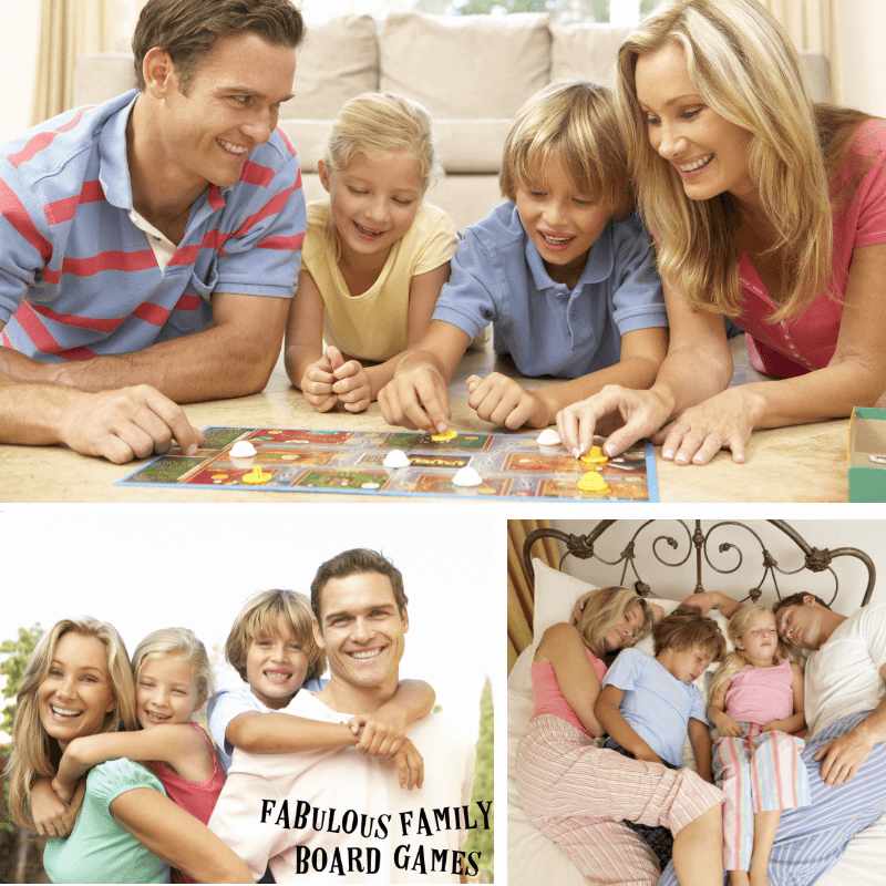 Want to create a family bond that can't be broken? Fun family bonding activities are the best for strengthening families. And guess what? Family board games are perfect! Regularly playing board games together, among other things, does a great job of strengthening your family relationship and to have fun, have family bonding time, and get to know one another in a completely different way! #familybond #familybonding #strengtheningfamilies #closeknitfamily www.fabulousfamilyboardgames.com