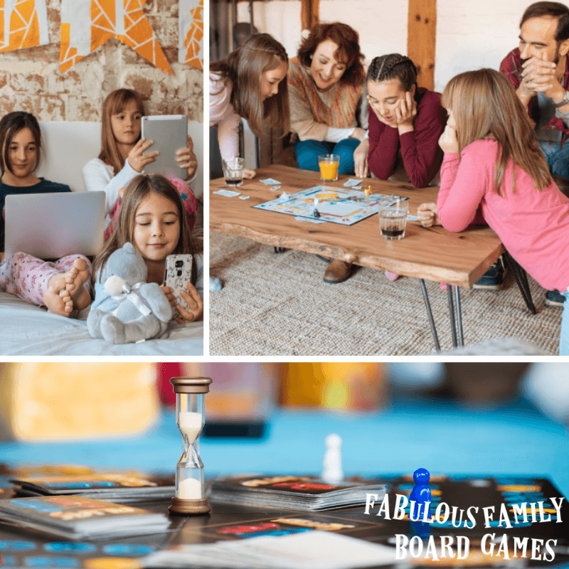 There's no doubt about it - family board games are back! Family game night ideas are everywhere, but it can be tough to get tweens and teens on board for your own family game night. These 8 tips for starting a ritual that includes family board games that everyone will love being part of! #familygamenight #boardgames #familyboardgames #gamenight #gamenightfun #tabletopgamesnight www.fabulousfamilyboardgames.com