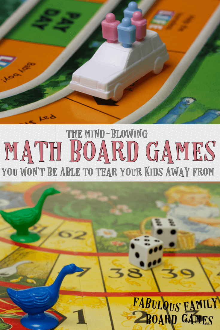 The Mind Blowing Math Board Games You Won T Be Able To Tear Your Kids Away From Fabulous Family Board Games
