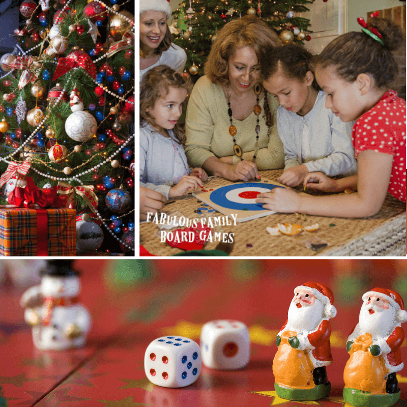 I was so excited about Christmas this year, I put together this list of Christmas games that is sure to delight every member of your family. These are fun Christmas games that will provide years of memorable family moments. So check out how many Christmas game ideas there actually are! (I've even shared pretty shocking Christmas party game for adults!) #Christmasgames #funChristmasgames #Christmasgamesforkids #Christmaspartygames #Christmaspartygamesforkids www.fabulousfamilyboardgames.com